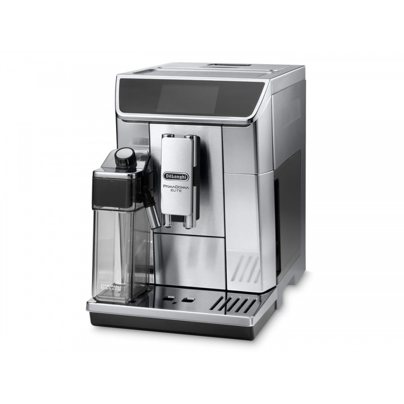 Espressor automat DeLonghi Primadonna Elite ESAM 650.75MS 1450W, 15 bar, 1.8 l, Silver