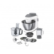 Robot de bucatarie Kenwood Multi-One KHH321WH, 1000 W, bol 4.3 l, blender 1.8 l, 6 viteze variabile + Pulse, Alb/Inox