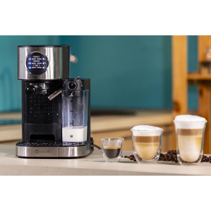 Espressor cafea Studio Casa  SC509 BARISTA LATTE, 15Bar, cu rezervor lapte