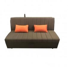 Canapea PEK 3 locuri extensibila Smart Living, Maro