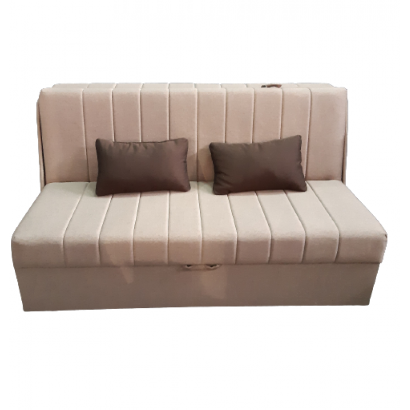 Canapea PEK 3 locuri extensibila Smart Living, Bej