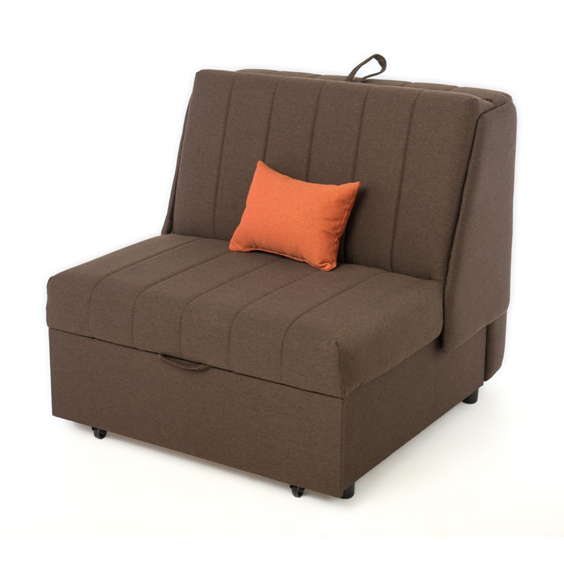 Canapea PEK 2 locuri extensibila Smart Living, Maro, Studio Casa