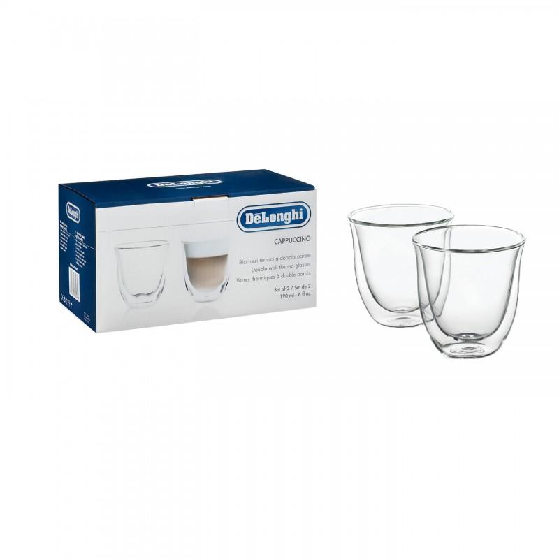 Set 2 pahare cappuccino, Delonghi