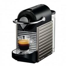 Espressor DeLonghi Nespresso EN124.S Pixie, 19 bar, 1260 w, 0,7l, Negru-Argintiu